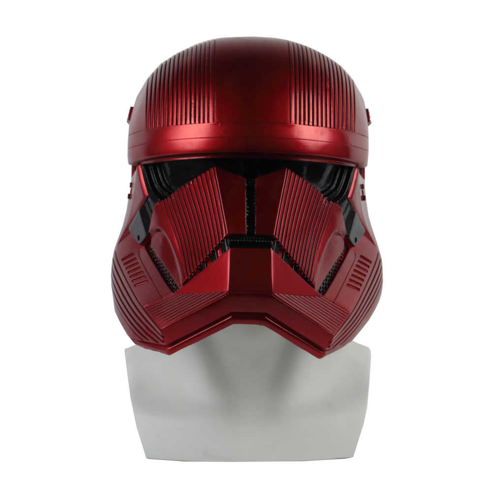 Star Wars 9 The Rise of Skywalker Sith Trooper Red Helmet Cosplay Halloween Star Wars Helmets Mask Prop