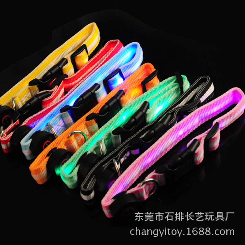 Glowing Dog Collar LED Dog Collar Flash Dog Collar Pet Supplies Best Seller Europe And America