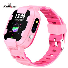 Enfants montre intelligente WIFI GPS SOS appel bébé montre Anti-perte 2G carte SIM enfant montre Location Finder Smartwatch pour enfants PK Q60 Q528(China)