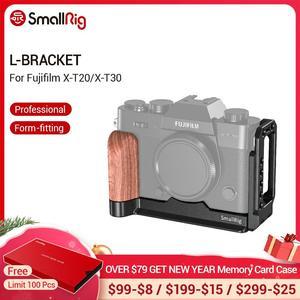 Image 1 - SmallRig X T20 L סוגר צלחת עבור Fujifilm X T20 ו X T30 Arca שוויצרי תקן צד צלחת + Baseplate L צורת הרכבה צלחת 2357