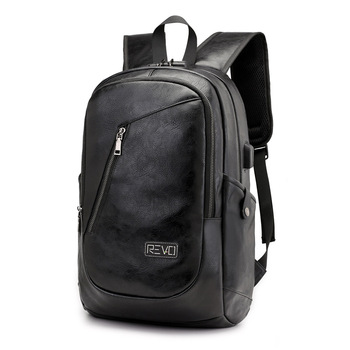 2018 New USB Rechargeable Leisure Backpack Business Computer Pack Multifunctional Anti-theft Bag for Men and Women - discount item  20% OFF Backpacks