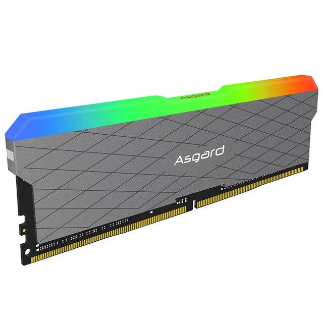 Asgard Loki w2 RGB 8 ГБ * 2 3200 МГц DDR4 DIMM 288-pin XMP Память ddr4 настольная память Rams для компьютерных игр двухканальный 3