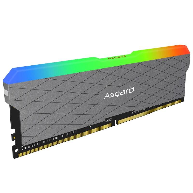 Asgard Loki w2 RGB 8GB * 2 3200MHz DDR4 DIMM 288 broches XMP Memoria Ram ddr4 ordinateur de bureau de mémoire Ram pour jeux d'ordinateur double canal - 4
