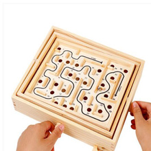 Wooden Labyrinth Board Game Ball In Maze Puzzle Handcrafted Toys Children Educational Toys antistress Toy душевой набор гарнитур oras saga 3945y хром