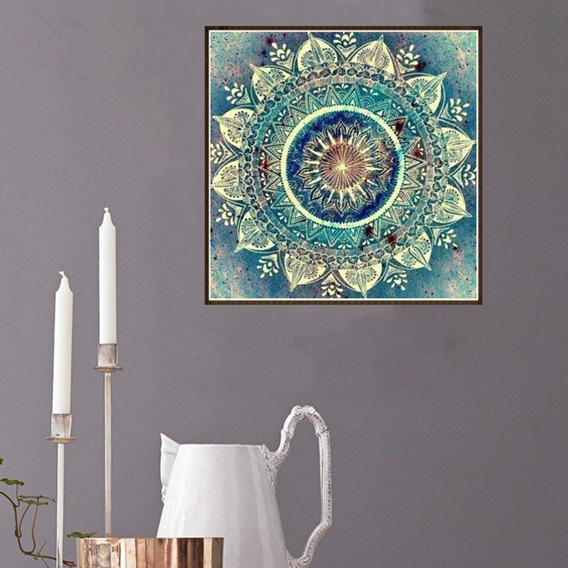 Color DIY 5D Diamond Embroidery Painting Cross Stitch Craft Home Wall Decor Kit