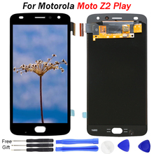 OLED Display For Motorola Moto Z2 Play Display lcd Touch Screen Replacement Black White XT1070 Display for Moto Z2 Play LCD