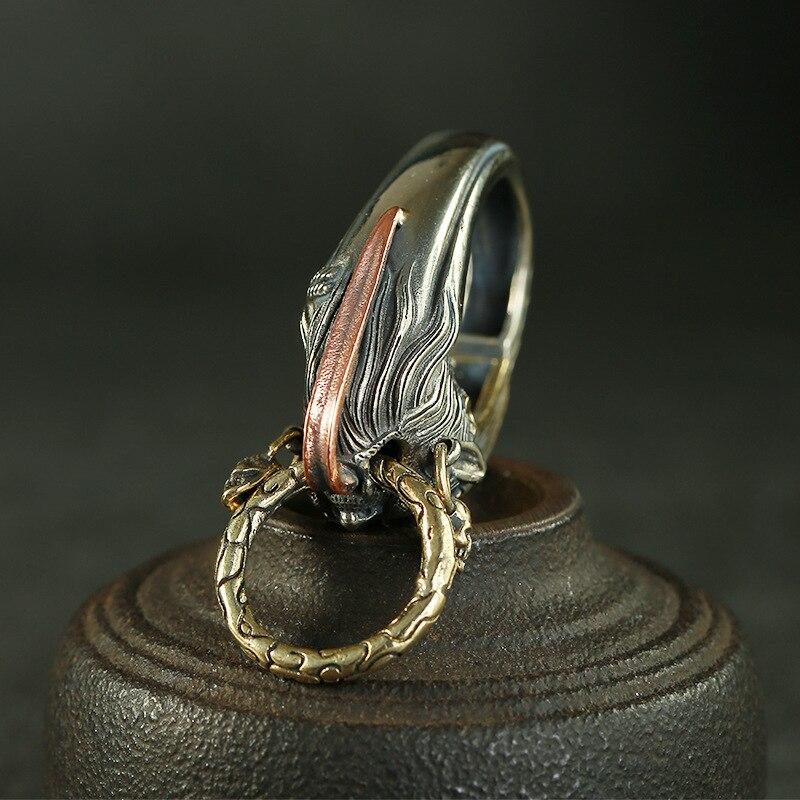 brass ghost keychain (4)