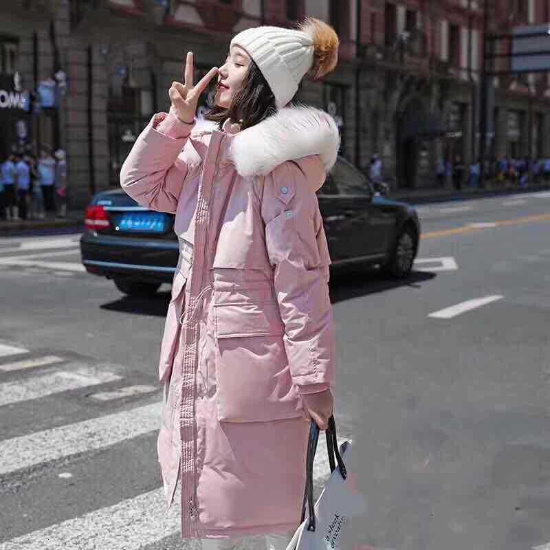 2019 East Gate va Code épaississement Long fonds bas vestes Super raton laveur cheveux plomb taille au-dessus du genou