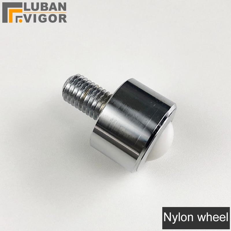 1pcs Dia  1/'/' Ball Nylon Transfer Bearing Unit Conveyor Roller Wheels New