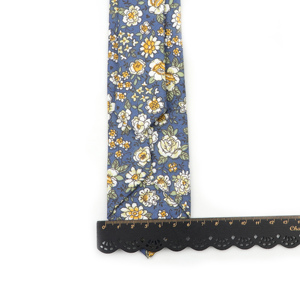 Image 5 - New Style Floral Brisk Soft Texture Tie 100% Cotton For Men&Women Casual Dress Handmade Adult Wedding Tuxedo Tie Accessory Gift