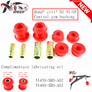 Civi c EG Control Arm Bushing For Hond a CRX Rover 91-05 Front Upper And Lower Polyurethane XXPUHD004RD