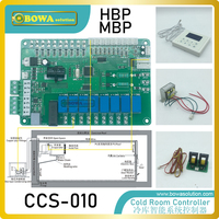 General smart system controller is designed for cold room  integrating EEVs  liquid injection  condenser & evaporator fan motor|control thyristor|control console operating manual|control box -