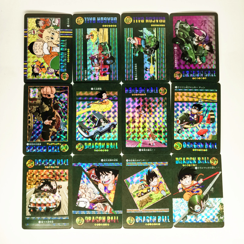 54pcs/set Dragon Ball Z Adventure Chapter Wind And Cloud Super Saiyan Goku Vegeta Game Collection Cards Limit Free Shipping
