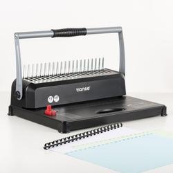 Máquina de encuadernación de papel TIANSE A4 encuadernadora de 21 agujeros máquina de encuadernación de 12 hojas perforadoras de 450 hojas encuadernación de Oficina Herramientas para el hogar