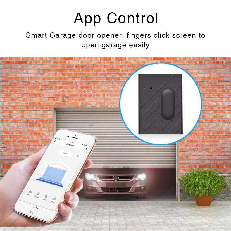 Automatizare smart Releu Wi-Fi pentru usa de garaj, poarta, control de la distanta 1