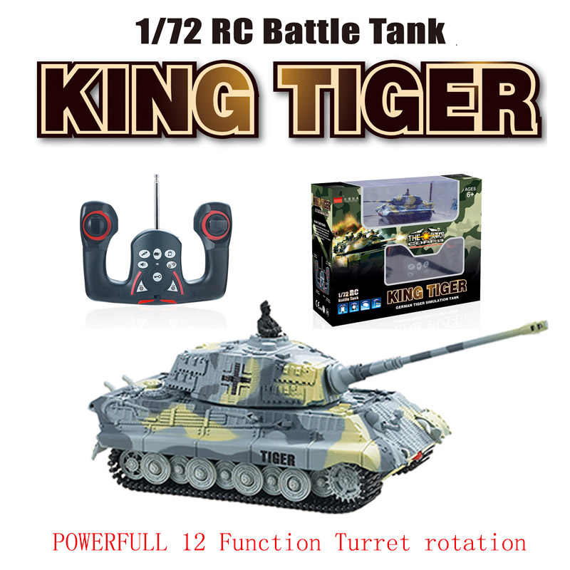 Mini 4CH Radio Rc Vs Tank Afstandsbediening Pocket Truck R/C Speelgoed Turret Rotatie Stryker Led Light Kid militaire Snelle Running