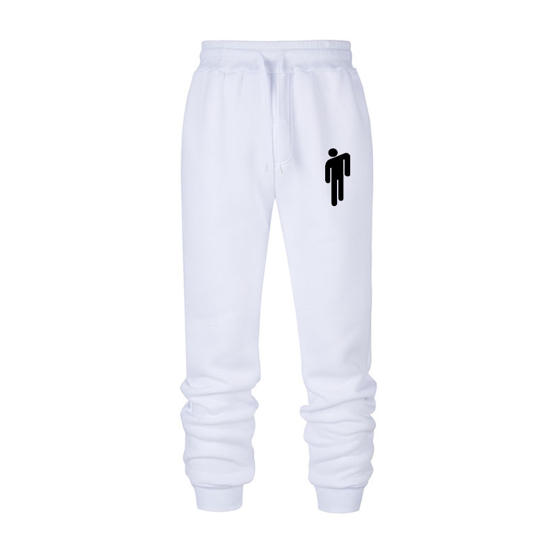 Billie Eilish fashion printed guard pants ladies / men's sports pants 2019 hot-selling casual trendy street style sports pants