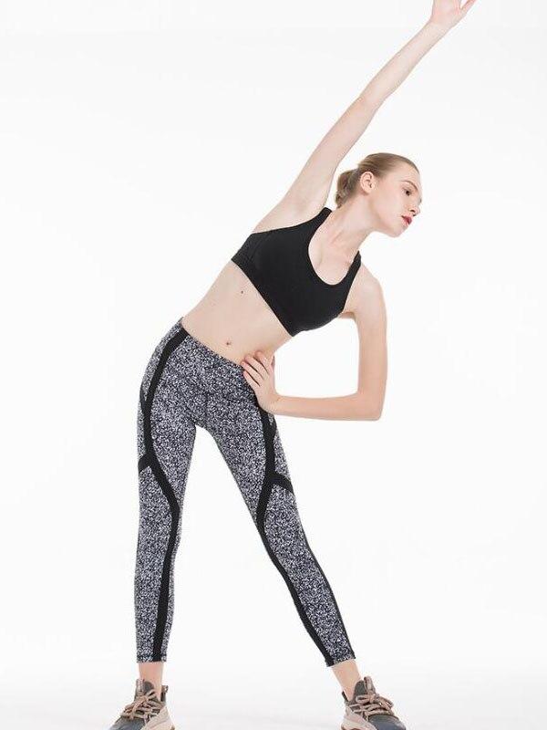 2020 Women Sports Tight Sexy Gym mesh Legggings Quality 4 Way Stretch Fabric 4