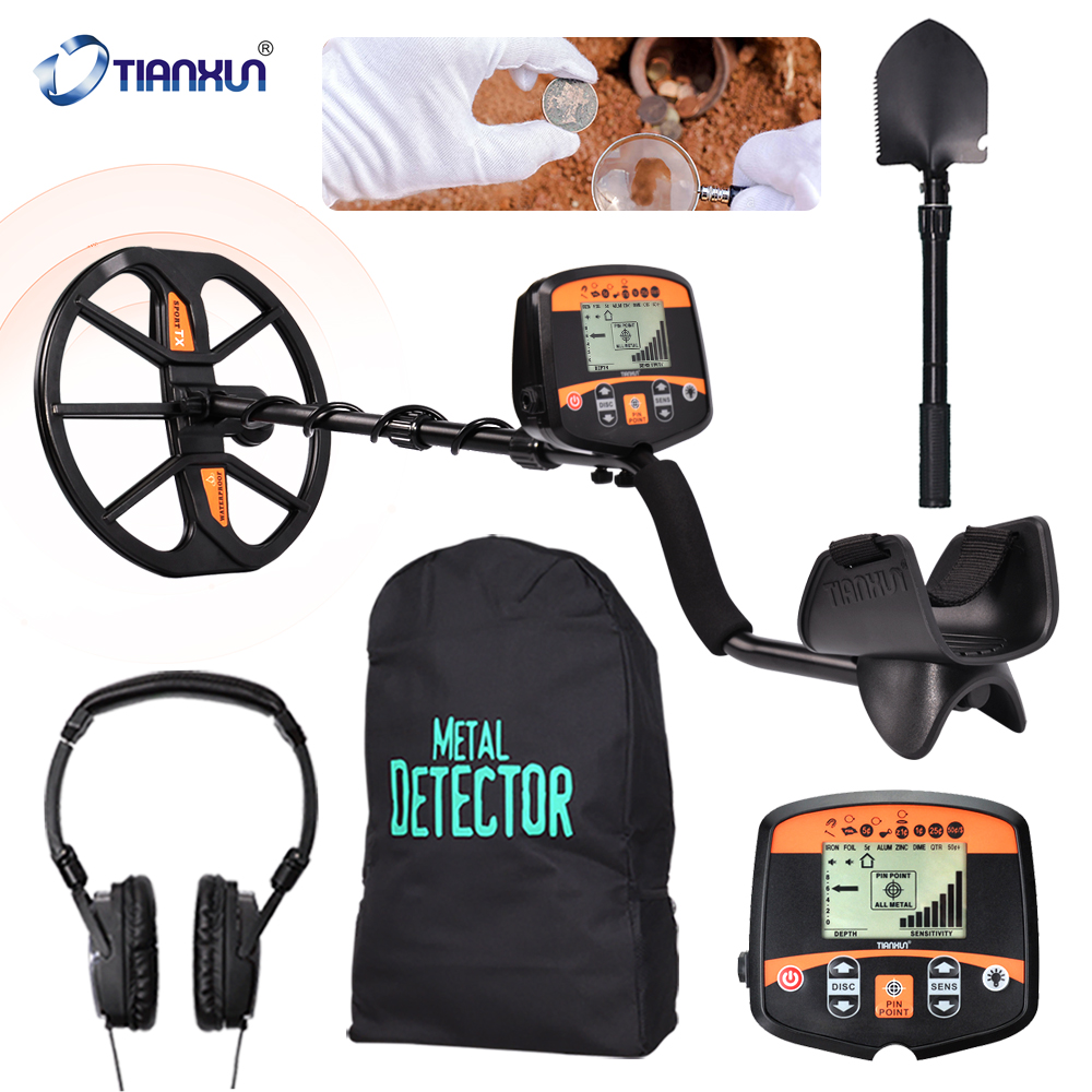 Professional Underground Metal Detector TX-960 High Sensitive LCD Display Gold Finder Treasure Hunter TX-850 Updated Version