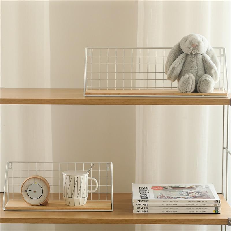 Iron Wooden Shelf for Decorative Wall Shelves  4