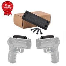 43 £ אקדח טקטיקה ציד מגנט מגנטי נרתיק אקדח הר נסתרת מקרה מחזיק לציד אקדח רכב המיטה דלת תחת שולחן