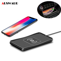 C3 Car Wireless Charger Pad for iPhone 11 Samsung S10 Plus Huawei P30 Pro QI Wireless Car Charger Pad Block Anti Skid|Wireless Chargers|Cellphones & Telecommunications -