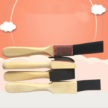 Drewno podeszwa zamszowa drut szczotka do butów środki czyszczące buty do tańca baletowego szczotki do czyszczenia szczotki do obuwia tanie i dobre opinie Drewna Wire Shoe Brush