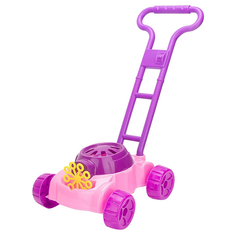 Outdoor Toy for 2 Years Old Kids, Bubble Machine Toys for Boys Girls Bubble Lawn Mower Garden Party Bubble Blower