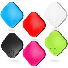 Lokalizator kluczy Alarm kradzieży inteligentna bezprzewodowa Mini Bluetooth zdalny lokalizator GPS dziecko Pet portfel przy telefonie wodoodporna wyszukiwarka wyszukiwania tanie tanio CN (pochodzenie) kieszonkowe narzędzia uniwersalne ABS+Silicone Black Red Green White 3 8 x 3 8cm 1 50 x 1 50