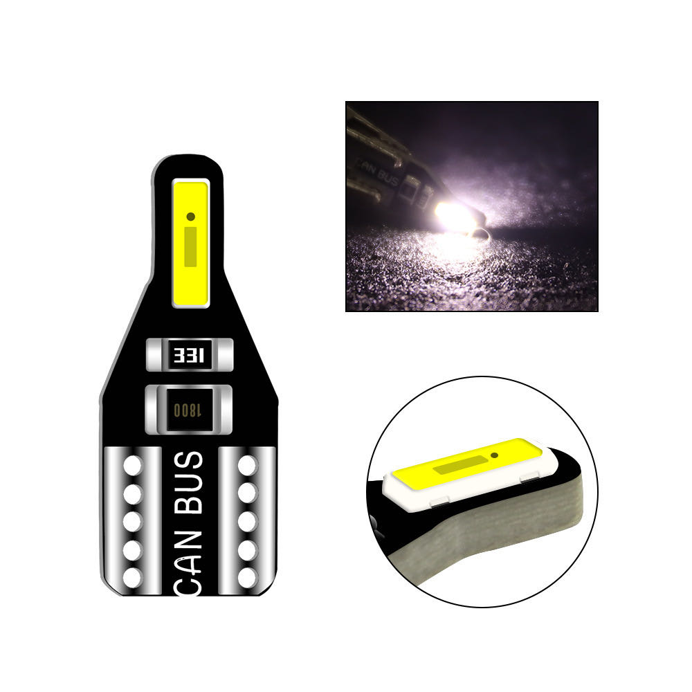 20pcs T10 LED W5W Led Bulb 194 168 Car Interior Bulb Light For BMW 3 5 7 Series E32 E90 E34 E36 E38 E39 E46 E53 E60 E65 E66 E90 image