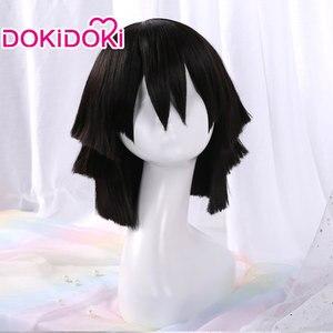 Image 5 - DokiDoki perruque de Cosplay Demon Slayer: Kimetsu no Yaiba, Tsuyuri Kanawo/Kochou Shinobu/Tokitou Muichirou/Iguro Obanai/Kanroji Mitsuri