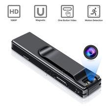 1080P Mini Camera 6 Hours Video Gizli Kamera Magnetic Body Camcorder Micro Cam Espia Motion Detection Camaras Espias Escondidas