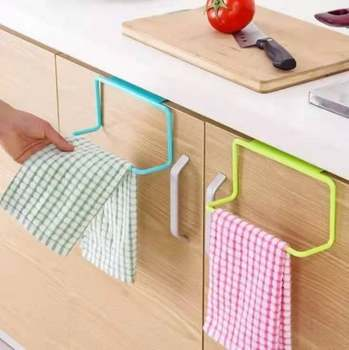 Kitchen Over Door Organizer bathroom shelf towel Cabinet Cupboard Hanger Shelf For Kitchen Supplies Accessories tools 23 image