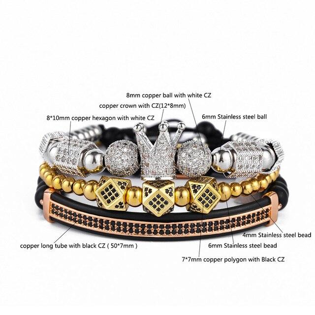 Роскошные ювелирные изделия 3 шт/компл подвески в виде короны