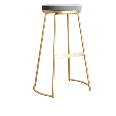 Nordic Bar Chair Simple Modern Bar Chair European High Stool Fashion Bar Stool Bar Stool Leisure High Chair