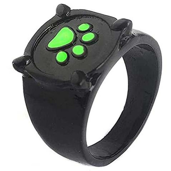 Dog  Rings Cute Black  2