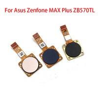 지문 센서 홈 리턴 키 메뉴 버튼 asus zenfone max plus m1 zb570tl x018dc 교체 부품 용 플렉스 리본 케이블