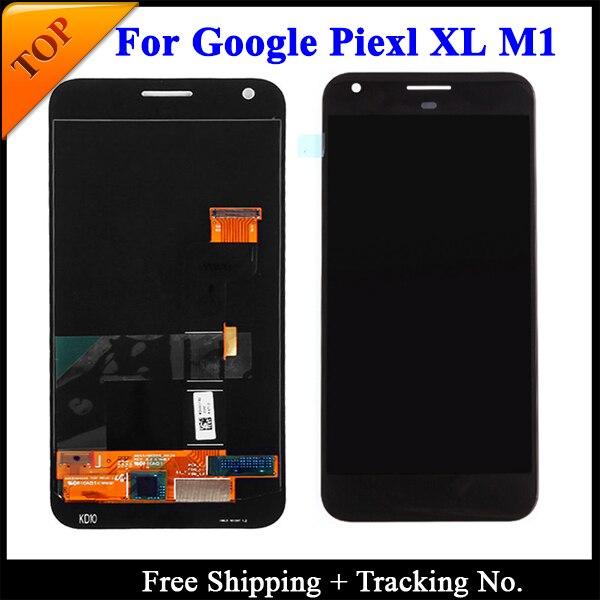 100% getest Super AMOLED Voor HTC Google Pixel 2 XL LCD Voor HTC Google Pixel Scherm LCD Touch Digitizer montage