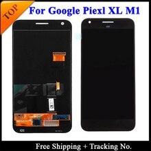 % 100% test edilmiş Süper AMOLED HTC Google Piksel 2 XL Için LCD HTC Google Piksel Ekran LCD Ekran dokunmatik sayısallaştırıcı tertibatı