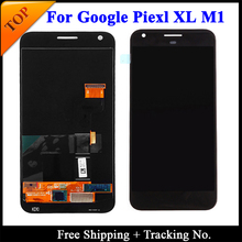 Pantalla LCD táctil para HTC Google Pixel 2 XL, Super AMOLED, probada por 100%, montaje de digitalizador