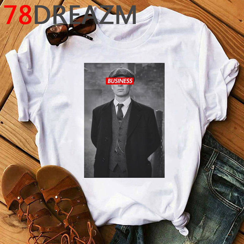 Peaky Blinders T Shirt Men Funny Cartoon 2020 Harajuku Graphic Tees Men Hip Hop Cool Streetwear 90s Fashion T-shirt Male
