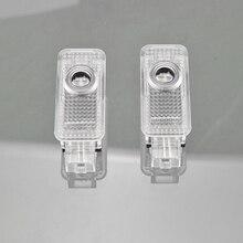 2 шт. светодиодный Двери Автомобиля любезно лампы для Audi A1 8X A3 8V A4 B5 B6 A5 A6 C5 C6 C7 A7 A8 D3 D4 Q3 Q5 SQ5 Q7 TT 8J R8 проектор светильник