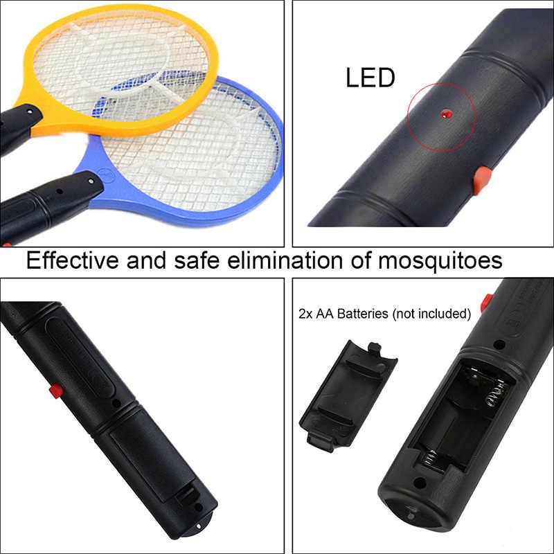3 צבע חשמלי יד כף קוטל חרקים טוס מחבט מחבט נייד יתושים רוצח הדברה עבור שינה חיצוני