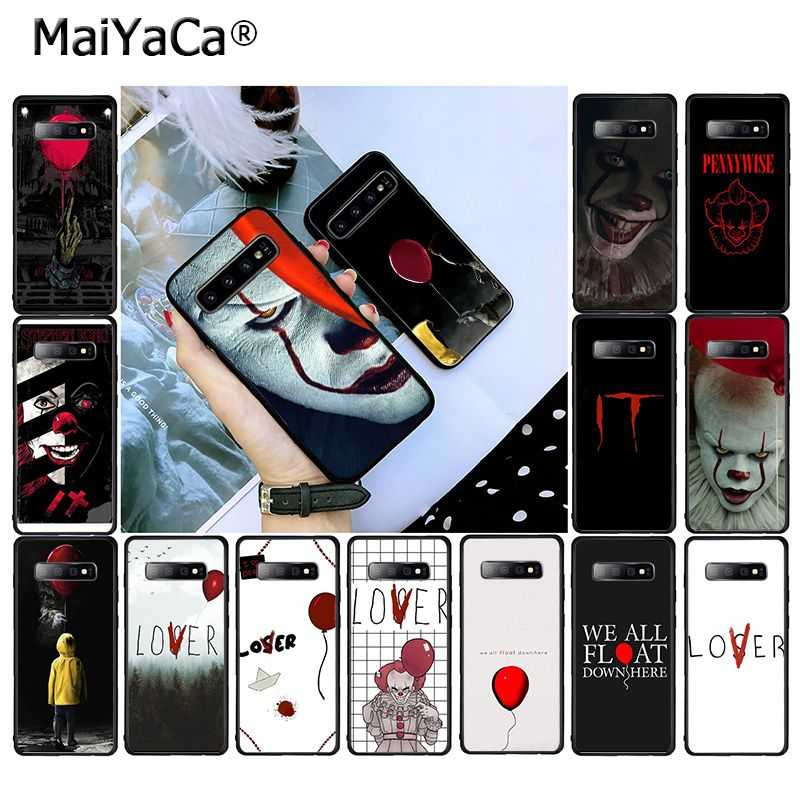 MaiYaCa Stephen King s It pennywise  Phone Case for Samsung Galaxy S20 S10 Plus S10E S6 S7 S8 S9 Plus S10lite S5|Fitted Cases|   - AliExpress