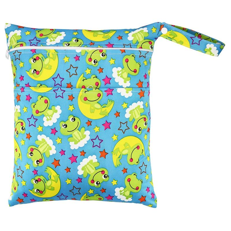 Portable Diaper Bag Eco-friendly Diaper Wet Bag And Economical Nappy Bags Retail Baby Diaper Bag Organizer RW20