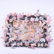 4PCS/Lot Lace Flowers Patch Cute Hand Made Lace Fabric Dress Socks Hair Hoop Decorate Garment Accessories Lace Trim 19616