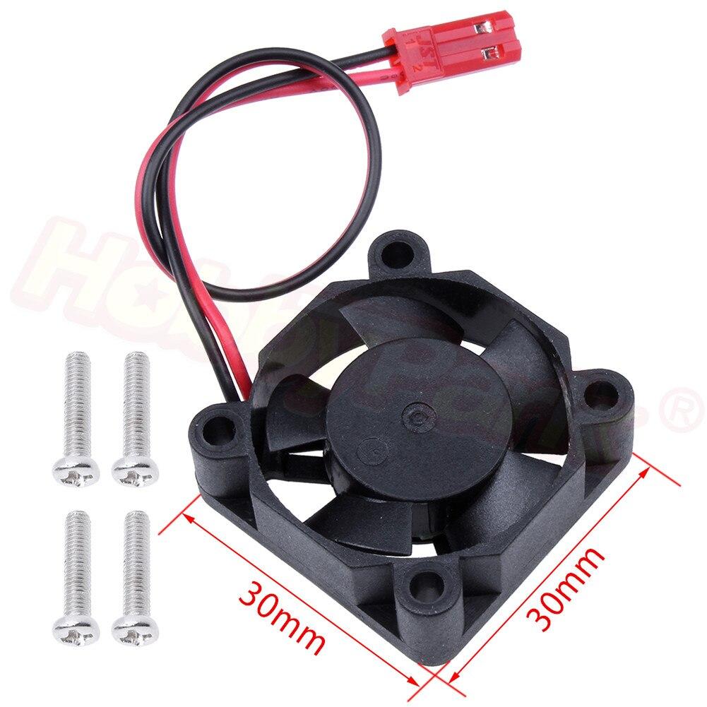Ventilador de refrigeración de alta velocidad 25*25mm/30*30mm para disipador térmico para motor ventilador sin escobillas cc 5V 0.16A para coche modelo RC