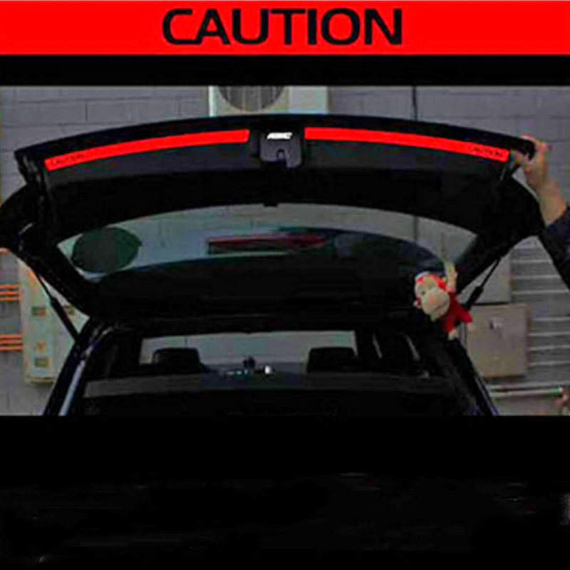 Image 2 - Aliauto 2 X Car Accessories Trunk of The Car Sticker and Decal Reflective Safety Warning Sticker for VW Golf 6 7 New Polo-in Car Stickers from Automobiles & Motorcycles