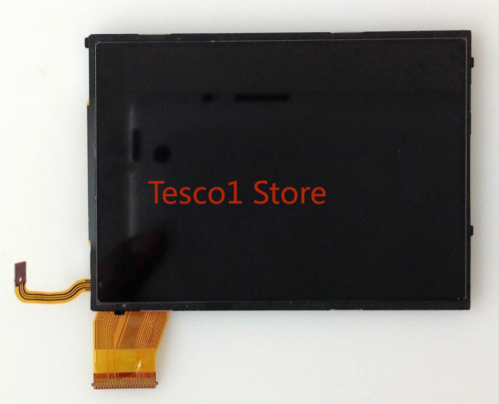 New LCD Display Screen With Outer Glass For Canon IXUS255 IXY610 Elph330 IXUS 255 HS PC1897 Digital Camera Part