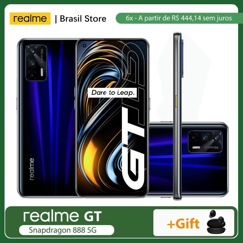 Предпродажа 6,2-6,15 realme GT глобальная версия, док-станция Qualcomm Snapdragon 888 5G 8 ГБ + 128 ГБ/12 Гб + 256 ГБ 65 Вт SuperDart заряда 120 Гц активно-матричные осид, NFC
